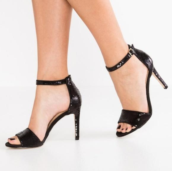 c7c19ac784fe ALDO NIB fiolla sandal black sequin